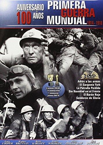 Aniversario 100 a?os I Guerra Mundial - (3 DVD) Adios a las