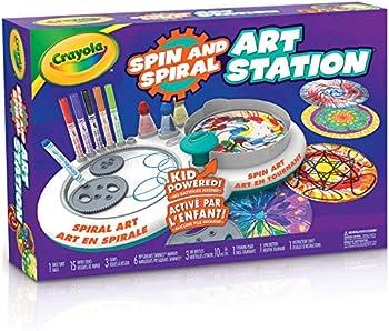 Crayola Spin & Spiral Art Station Activity Kit