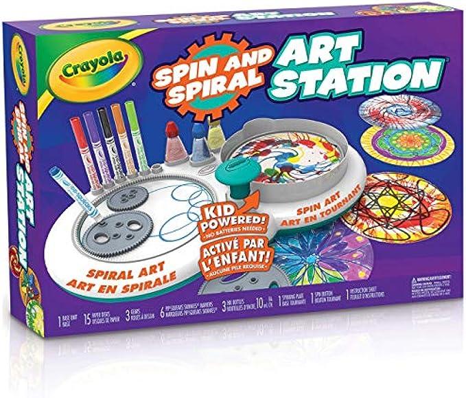 Crayola Spin & Spiral Art Station, DIY Crafts