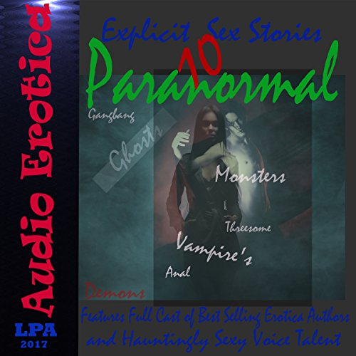 10 Paranormal Explicit Sex Stories audiobook cover art