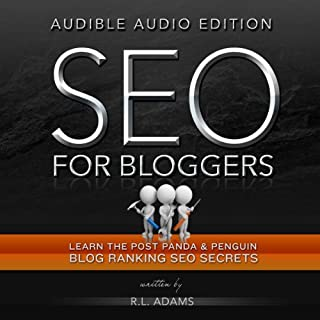 SEO for Bloggers audiobook cover art