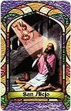 San Alejo * St. Alexis * Bilingual Prayer Card * Estampa Religiosa Bilingue