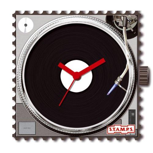 S.T.A.M.P.S 711062 - Reloj analógico de cuarzo con correa multicolor