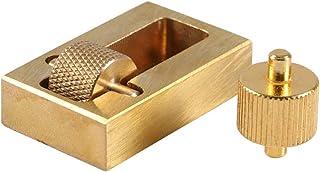 Yosoo Accessoire de Maroquinerie Applicateur de Huile sur Cuir Outil pour appliquer de l'Huile au Bord de Cuir Bricolage A...