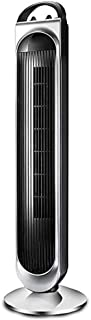 WYNZYYX Pedestal Fan Portable Air Cooler, Air Conditioner, 3 Speed Settings 8 Hour Timer Function, Portable Air Cooler for Home and Office(Color : Black)