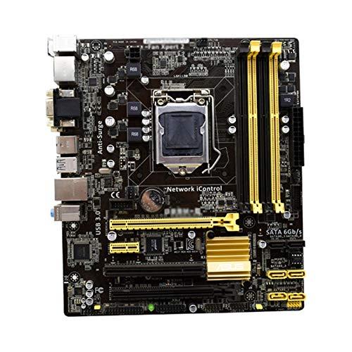WERTYU Procesadores De Computadora Placa Base Fit For ASUS B85M-E PC Placa...