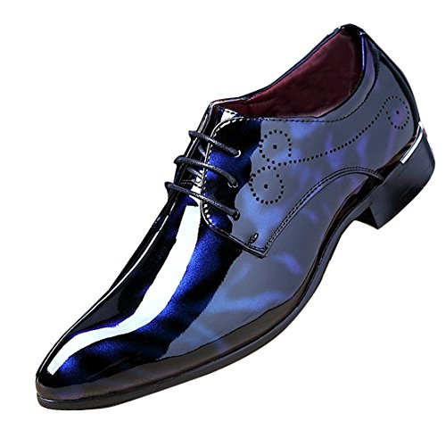 Red Patent Leather Shoes for Men