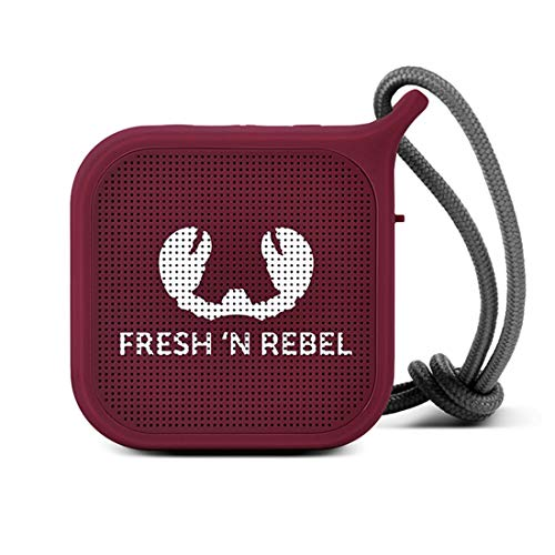 Fresh 'n Rebel ROCKBOX PEBBLE Ruby, Kabelloser Bluetooth Lautsprecher