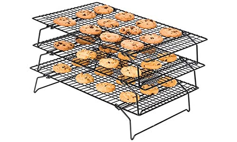 Culinary Edge 33000 Wire Cooling Rack, Black