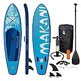 ECD Germany Tabla Hinchable Makani Paddle Surf/Sup 320 x 82 x 15 cm Azul Stand up Paddle Board...