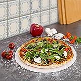 Evre Pizza Stein 30cm Durchmesser für Backofen & Grill BBQ rund