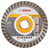 Bosch 2608602394 - Disco tronzador de diamante Universal Turbo (125 x 22,23 x 2 x 10 mm)