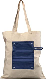 Bullet Snap Roll Up Buttoned Tote Bag