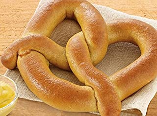 Bakery Authentic Bavarian Soft Pretzel, Shelf Stable Philadelphia Soft Pretzels Flavors, salt, plain & Sugar Cinamon MADE IN USA (salt) Not Frozen Fresh wheat White Bread (salt)