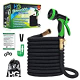 H₂G Flexible Garden Hose 100ft | New 2020 Expandable Superior Strength Lightweight Retractable