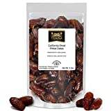 Traina Home Grown Dried California Pitted Dates - No Added Sugar, Non GMO, Kosher Certified, Vegan, Packed in Resealable Pouch (2 lbs)