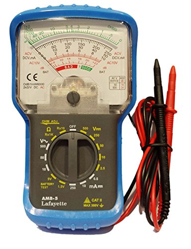 MULTIMETRO analogico multifunzione EX Marcucci Lafayette AMB-5