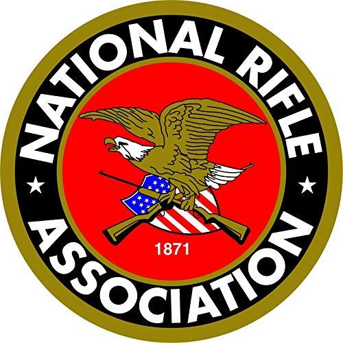 Stickers Decals NRA Sticker National Vinyl Rifle Association of America Decal Car Truck Window ShopForAllYou