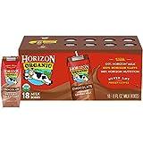 Horizon Organic Shelf-Stable 1% Low Fat Milk Boxes, Chocolate, 8 oz., 18 Pack