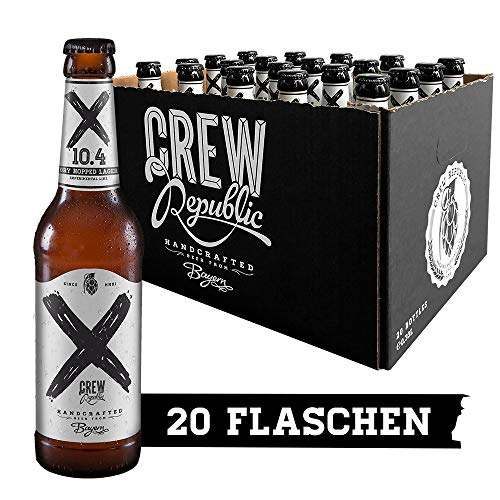 CREW Republic Craft Bier X 10.4 Dry Hopped Lager (20 x 0,33 l)