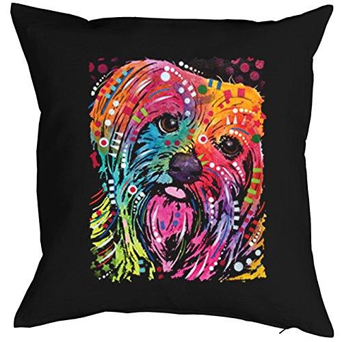 York II Pillow, oreiller, almohada, Cuscino Pop Art Style