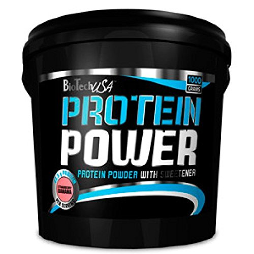Biotech USA Protein Power - 1 kg Strawberry-Banana