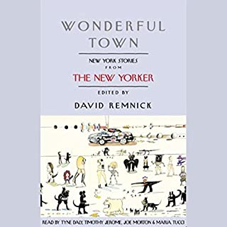 Wonderful Town audiobook cover art