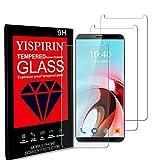 YISPIRIN [3 Piezas] Cristal Templado para Cubot X19, Dureza 9H, Anti - arañazos Anti-Rasguño,Fácil de instalar, Vidrio Templado Protector de Pantalla para Cubot X19