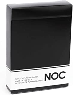 NOC Original Playing Cards - Black