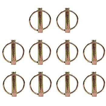 PN07 Set of  10  7/16  Implement Lynch Pins Fits Three-Point Tractor Hitches