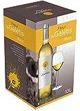 BIB Vin Blanc IGP Pays d'Hérault - Cubi 10 Litres Vin Blanc Fleur de Galétis