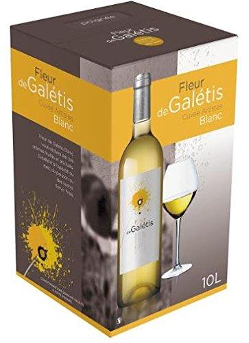 Bib Vin Blanc - Fleur de Galetis 10 L