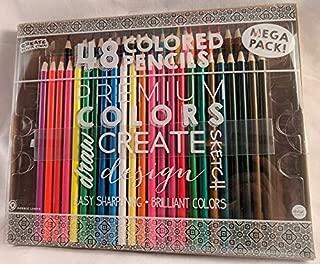 48 Premium Colored Pencils Mega Pack