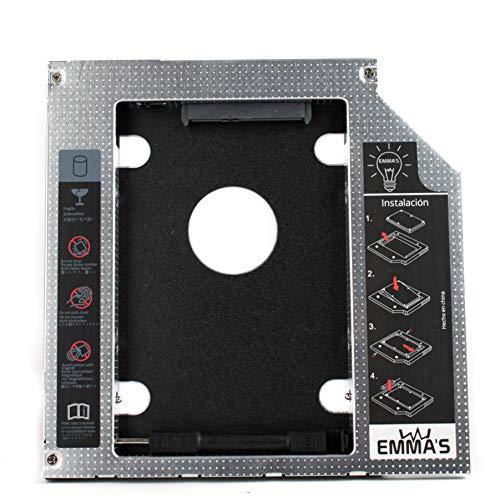Emma's Adaptador - Caddy para Segundo Disco Duro 9.5mm