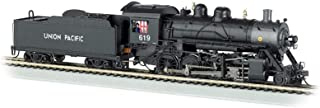 Bachmann Trains Baldwin 2-8-0 Dcc Equipped Steam Locomotive Union Pacific #619 - HO Scale, Prototypical Black