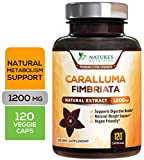 Caralluma Fimbriata Extract High Potency 1200mg - Natural Support for Metabolism & Endurance, Made in USA, Best Vegan Diet Pills Supplement for Men & Women, Non-GMO - 120 Capsules