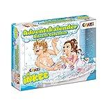 CRAZE 25024 Adventskalender INKEE Badespaß Weihnachtskalender Zauberbad für Mädchen Jungen Spielzeugkalender, kreative Inhalte, Tolle Überraschungen