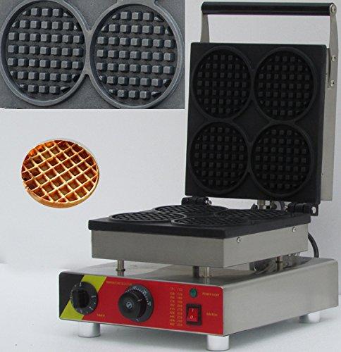 Waffle maker ,waffle baker, Round form waffle maker ,Waffle Toaster, Waffeleisen NP-504