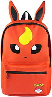 Generies Eeveelution Eevee Pokemon Sac à dos Flareon Pyroli Anime