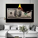 fdgdfgd $ 100 Poster da Parete in Tela bruciata Decora Il Muro Art Déco del Soggiorno in Stile Nordico