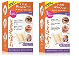 Best Face Waxes - Sally Hansen Hair Removal Wax Strips-34ct, 2 pk Review