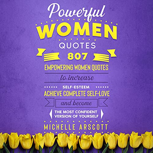 Powerful Women Quotes Audiobook By Michelle Arscott cover art