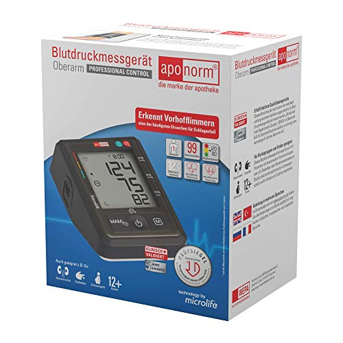 Aponorm Blutdruckmessger�t Professional Control Oberarm, 1 S