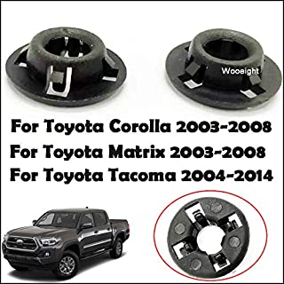 Fastener /& Clip Huscus 2pcs Prop Rod Grommet Hood Support Fit for Corolla Matrix 2003-2008 for Tacoma 2004-2014 9008048064 90480-15034