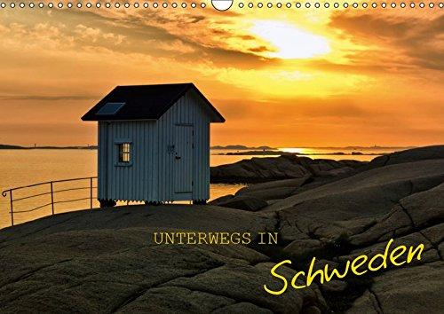 Unterwegs in Schweden (Wandkalender 2019 DIN A3 quer): Schweden hautnah erleben (Geburtstagskalender, 14 Seiten ) (CALVENDO Orte)