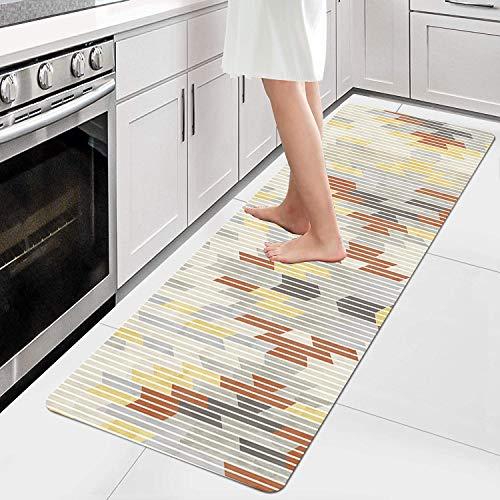 AIYOUVM Alfombras Cocina Largas Alfombras largas para Pasillo Antimanchas Lavable Antideslizante, Alfombras de Pasillo para alfombras de Entrada a pasillos 80x450cm