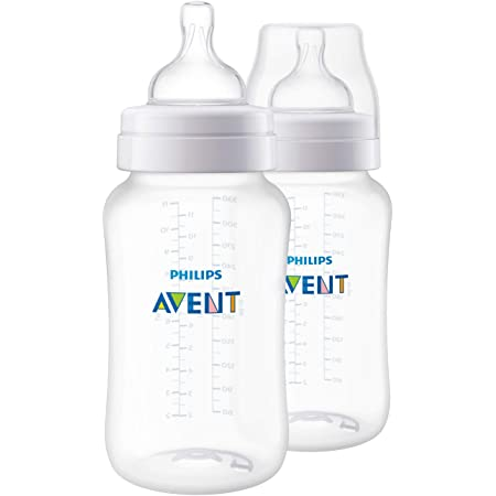 6 x Philips Avent Elephant Glass Feeding Baby Bouteilles BPA Free 120 Ml Garçon Fille