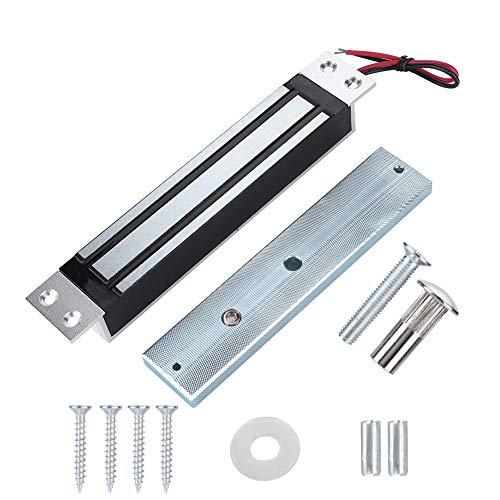 Elektrische Magnetverriegelung, DC12V 280 kg/600 lbs Elektrische Magnetverriegelung Haltekraft Elektromagnetverriegelung Sicherer NC-Modus