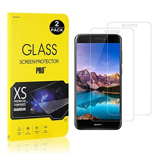 Bear Village® Verre Trempé pour Huawei P8 Lite 2017, Film Protection Écran Vitre HD, Dureté 9H, 3D-Touch Protection en Verre Trempé Écran pour Huawei