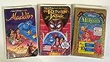 Disney Animated Collection #03 (3pk): Aladdin; Return of Jafar; the Little Mermaid